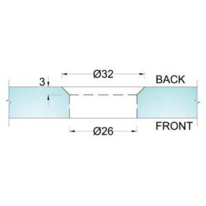 OZ SL 44 A6 cutout